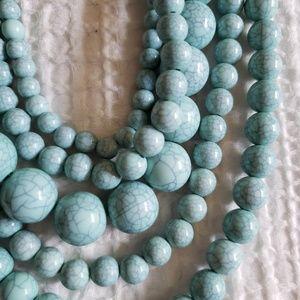 Light Turquoise Fashion Necklace